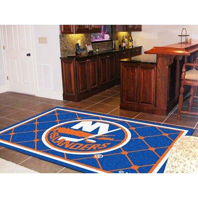 NHL - New York Islanders 5x8 Doormat Rug Size: 3'10