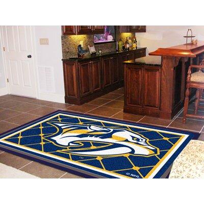 NHL - Nashville Predators Doormat Rug Size: 310 x 6