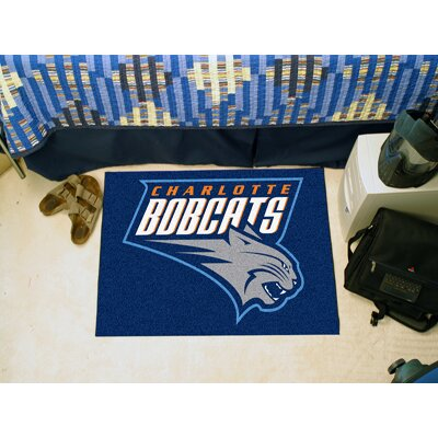 NBA - Charlotte Hornets Doormat Rug Size: 5 x 8