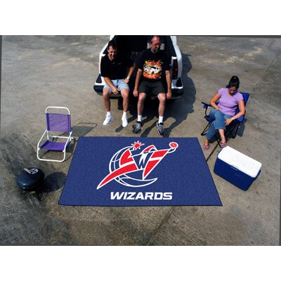 NBA - Washington Wizards Doormat Mat Size: 5 x 8