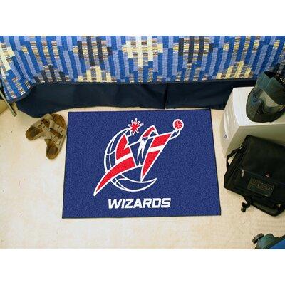 NBA - Washington Wizards Doormat Rug Size: 5 x 8