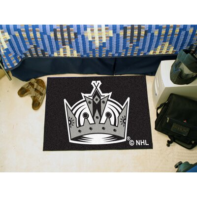 NHL - Los Angeles Kings Doormat Rug Size: 18 x 26