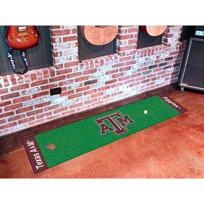 NCAA Texas A&M University Putting Green Doormat
