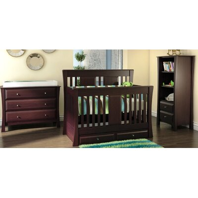 Kidz Decoeur Kenora 3-in-1 Convertible Nursery Set KIDZ1056