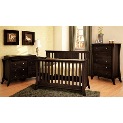 Kidz Decoeur Long Beach 3-in-1 Convertible Nursery Set LB-U03/CB