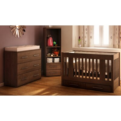 Kidz Decoeur York 3-in-1 Convertible Nursery Set KIDZ1051