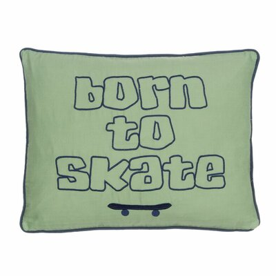 Born To Skate Throw Pillow