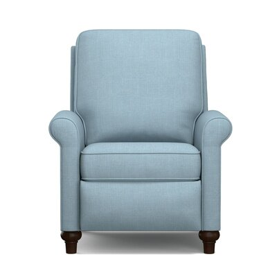 Push Back Recliner Upholstery: Blue