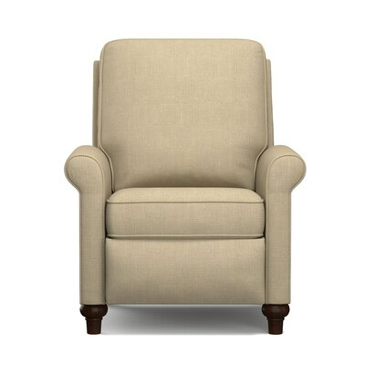 Manual Recliner Upholstery: Taupe