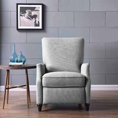 Push Back Recliner Upholstery: Dove Gray