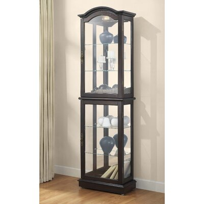 Loyer Lighted Curio Cabinet