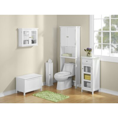 "Jenlea 25"" x 63"" Bathroom Space Saver Free Standing Cabinet at Sears.com"