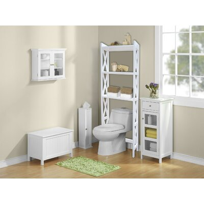 "Jenlea 25"" x 62"" Bathroom Space Saver Free Standing Cabinet at Sears.com"