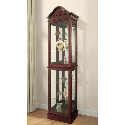 Ballycastle Lighted Curio Cabinet