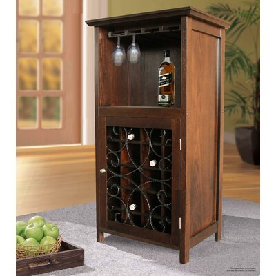 Sheryl 20 Bottle Floor Wine Cabinet