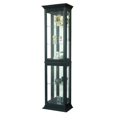 Granville Floor Standing Lighted Curio Cabinet