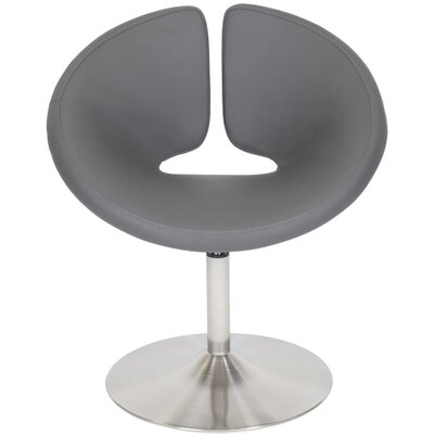 Matrix U Shape Swivel Lounge Chair - Color: Grey