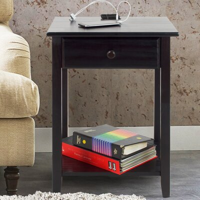 Isadore 1 Drawer Nightstand