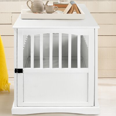 Pet Crate Size: 29.25 H x 24 W x 36.5 L