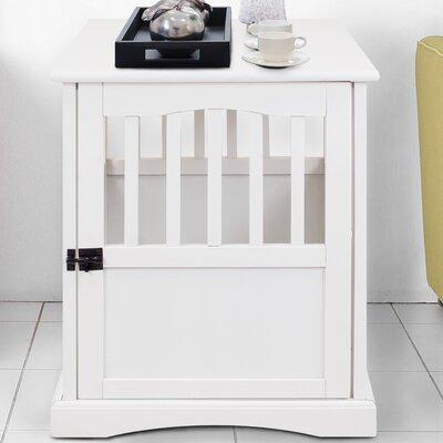 Pet Crate Size: 24.25 H x 19.96 W x 24.78 L
