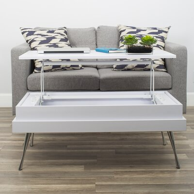 Kershaw Wood Coffee Table with Lift-Top