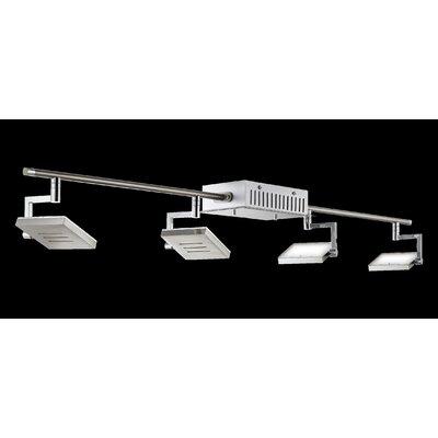 Schienenbeleuchtungsset 4-flammig Shine | Lampen > Strahler und Systeme > Schienensysteme | Metall | Fischer & Honsel GmbH