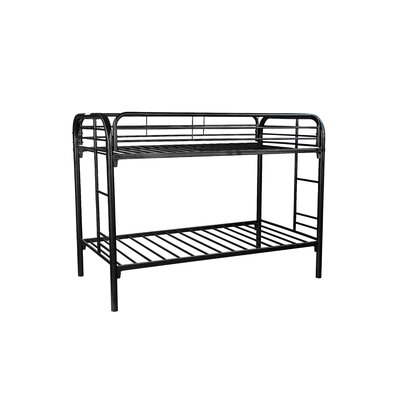 Vernier Twin Bunk Bed Finish: Black