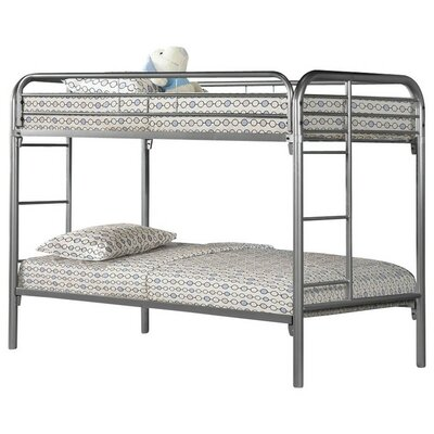 Twin Bunk Bed Finish: Silver