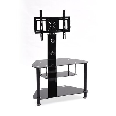 Howard Glass TV Stand with Mount