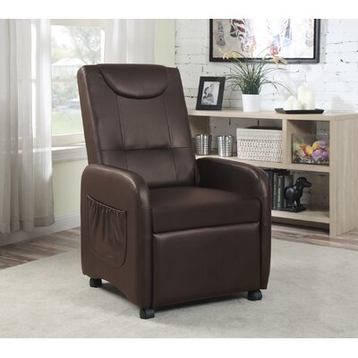 Recliner Upholstery: Brown