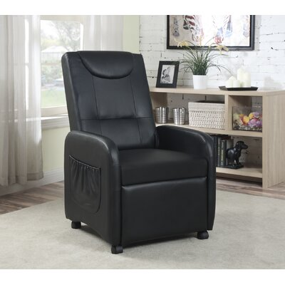 Recliner Upholstery: Black