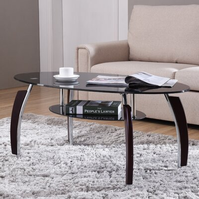 Barnesville Coffee Table Top Color: Black