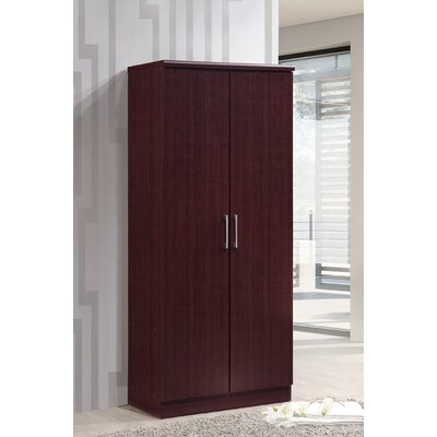 Mullinax Armoire Finish: Mahogany