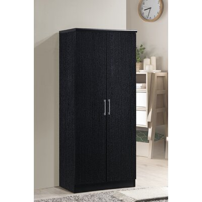 Mullinax Armoire Finish: Black