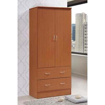 Wardrobe Armoire Color: Cherry