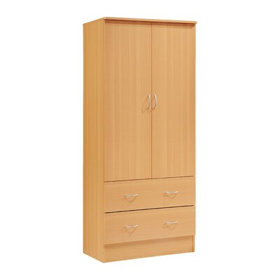 Wardrobe Armoire Finish: Beech