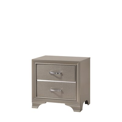 Logan 2 Drawer Nightstand