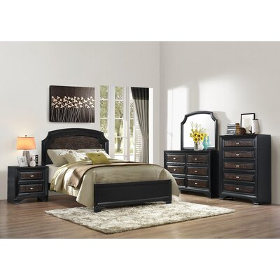 Farrah Queen Upholstered Panel Bed