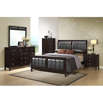 Fraser Queen Upholstered Panel Bed
