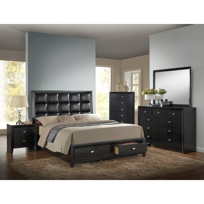 Carolina Queen Upholstered Platform Bed