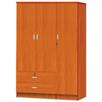 3 Door Armoire Finish Cherry