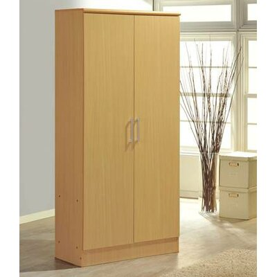 2 Door Armoire Finish Beech