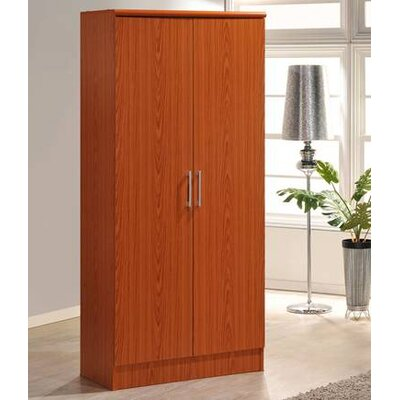 2 Door Armoire Finish Cherry
