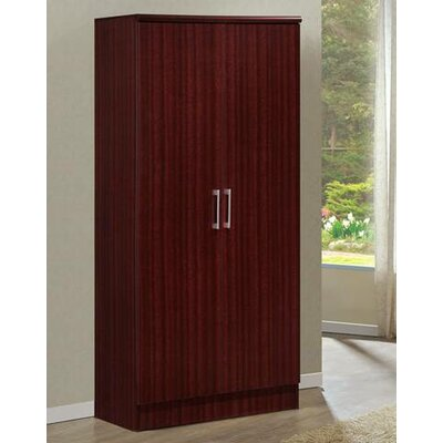 2 Door Armoire Finish Mahogany