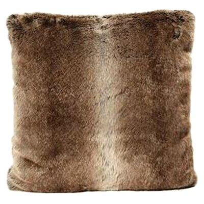 Ital Art Design Fancy Rabbit Faux Fur Throw Pillow