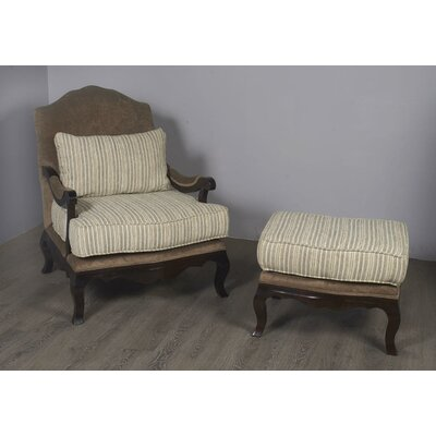 Bever Lounge Chair and Ottoman