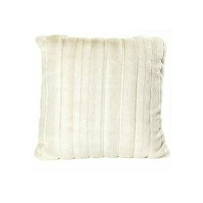 Fancy Mink Faux Fur Throw Pillow