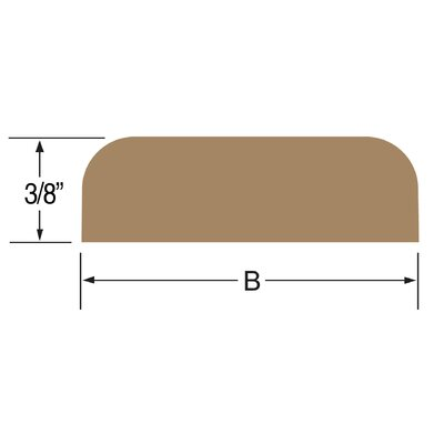 60 Solid Teak Batten Size: 1.88