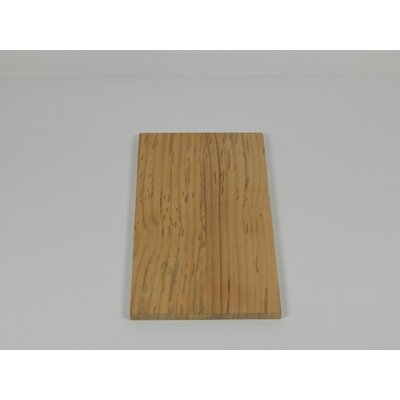 Solid Teak Lumber Plank Size: 0.38 H x 5.75 W x 12 D