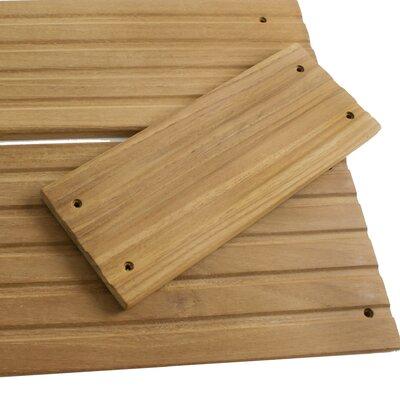 Teak 8.75 x 3.5 Deck Step